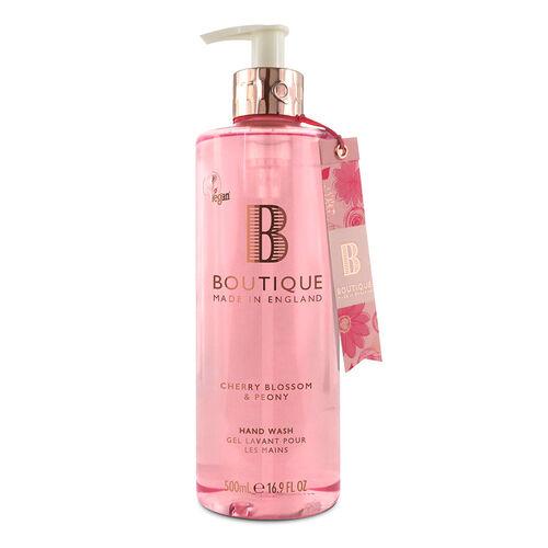 Boutique: Cherry Blossom & Peony Hand Wash - 500ml