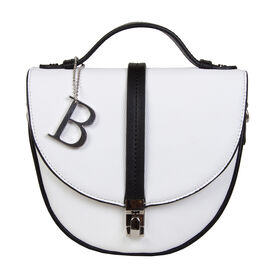 Bulaggi Collection - Babs Crossbody Bag in White (Size 18x17x08 Cm)