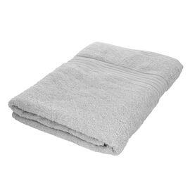 Egyptian Cotton Terry Towel Sheet - Silver Grey