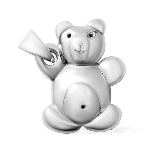 Sterling Silver Teddy Bear Pendant.Silver Wt 3.50 Gms