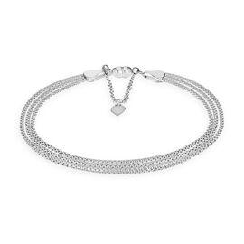 Sterling Silver Popcorn Bracelet (Size 7.5)