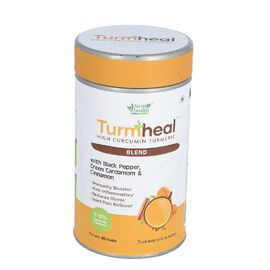 Turmheal with Black Papper, Green Caramom and Cinnamon 100GM.
