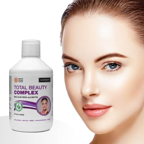 DOD - SkinFormative: Total Beauty Complex with Aloe Vera and Biotin Collagen - Natural Orange Flavour (500ml)