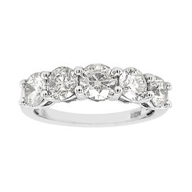 OTO - NY Close Out Deal 14K White Gold Diamond (I1-I2/G-H) Ring 1.00 Ct.