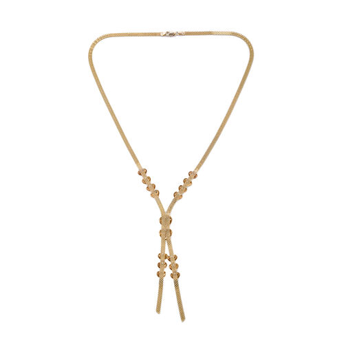 Royal Bali Collection 9K Yellow Gold Necklace (Size 18), Gold wt 7.82 Gms