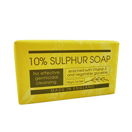 The English Soap Company: 10% Sulphur Soap - 190g