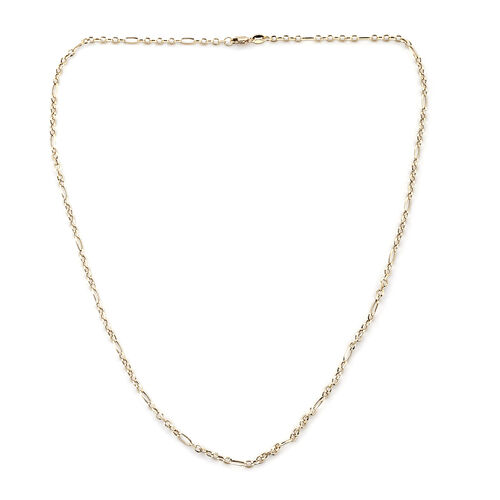 Royal Bali Collection 18 Inch Chain Necklace in 9K Gold