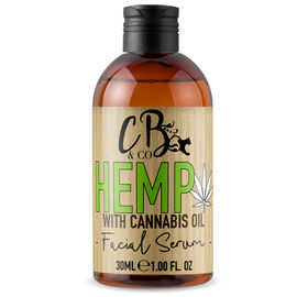 CB&CO: Hemp Facial Serum - 30ml