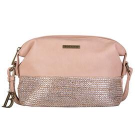 Bulaggi Collection - Wave Crossbody Bag (Size 23x10x18Cm) - Camel