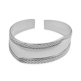 Cuff Bangle in Sterling Silver 19.87 Grams 7 Inch
