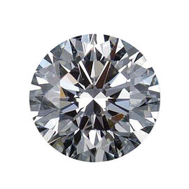 0.50 Carat GIA Certified 4.98mm Round Diamond SI-2 Clarity GH Colour