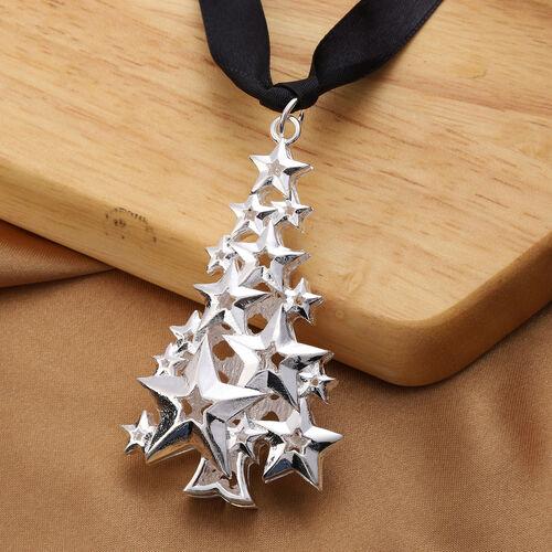 RACHEL GALLEY - Christmas Tree Charm in Silver Tone
