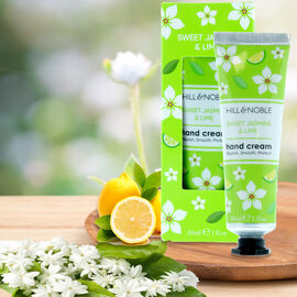Hill & Noble: Sweet Jasmine & Lime Hand Cream - 30ml