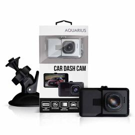 HD Video Car Dash Cam with IR Night Recording With Free 8GB Memory Card - Silver Colour