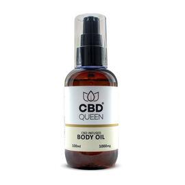 CBD Queen: Body Oil - 100ml (1000mg)