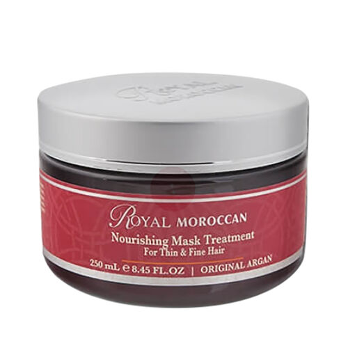 Royal Moroccan: Nourishing Mask Treatment (For Thin and Fine Hair) - 250ml