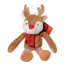 Keel Toys - Christmas Dangly Reindeer Character (Size 12 Cm)