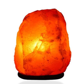 Home Decor - Handcrafted Natural Shaped Himalayan Rock Salt Lamp (Size 18x10x9 Cm)
