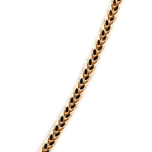 Royal Bali Collection 9K Yellow Gold Spiga Necklace (Size 30), Gold wt 5.02 Gms.