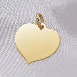 9K Yellow Gold Heart Pendant,  Gold Wt. 0.98 Gms