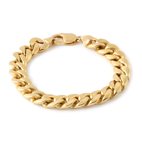 Exclusive Edition - JCK Vegas Collection 9K Y Gold Curb Bracelet (Size 8), Gold wt. 24.22 Gms.