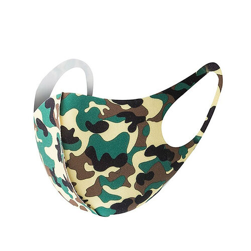 Reusable Washable Face Cover - Green