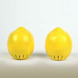 Set of 2 - HomeSmart Lemon Shaped Refrigerator Deodoriser