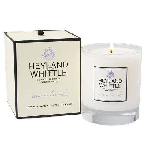 Heyland & Whittle: Citrus & Lavender Diffuser, Candle & Organic Soap