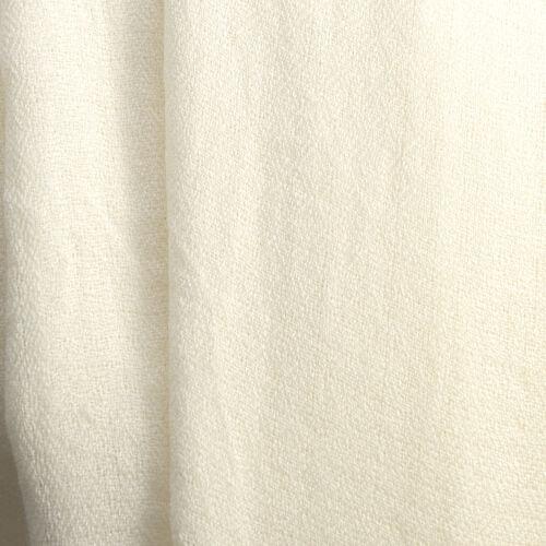100% Cashmere Wool White Colour Scarf (Size 190x70Cm)