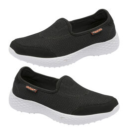 Gola San Luis Slip On Trainer in Black Colour