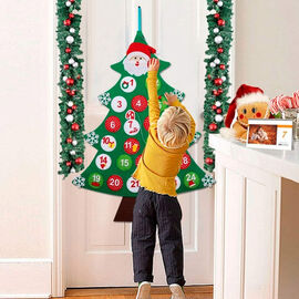 Haven Giant Hanging Christmas Tree Advent Calendar