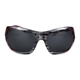 POLAROID Womens Oversized Sunglasses - Red