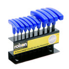 ROLSON 10pc Metric T-Handle Hex Key Set