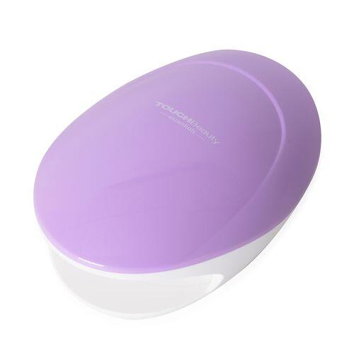 Nail Polish Dryer (Size 14.7x10.3x6.2 Cm) Colour Purple and White