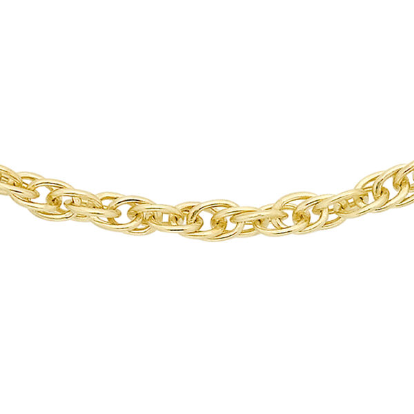 14K Gold Overlay Sterling Silver Prince of Wales Chain (Size 30)