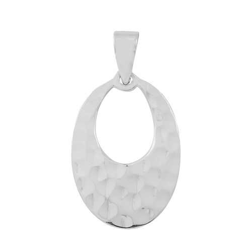 Thai Sterling Silver Oval Pendant