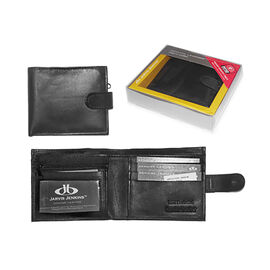 Close Out Deal 100% Genuine Leather RFID Blocking Mens Bi-Folded Wallet (Size 9x10mm) - Bi-Fold Wall
