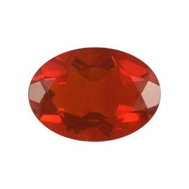 AAAA Fire Opal Oval 7.00x5.04x3.37 Faceted 0.43 Cts