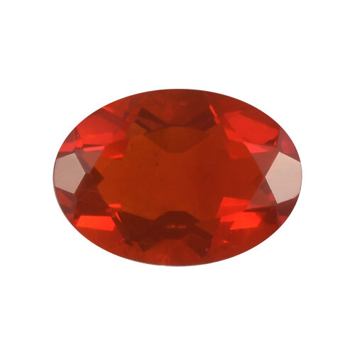 AAAAA Fire Opal Oval 7.00x5.04x3.37 Faceted 0.43 Cts