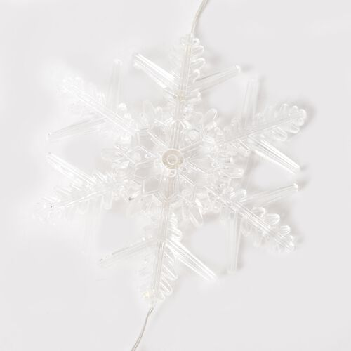 LED Colour Changing Winter Starburst Decoration