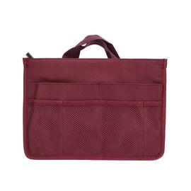 100% Waterproof Organiser Bag (Size 29x9x20cm) - Burgundy Colour