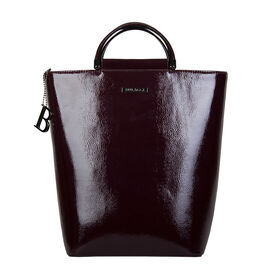Bulaggi Collection- Aster Bucket Handbag (Size 21x30x13 Cm) - Burgundy