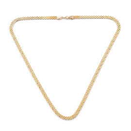 Royal Bali Collection Bismark Chain Necklace in 9K Gold 20 Inch