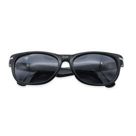Loopies Wayfarer Polarized Folding Sunglasses in Black
