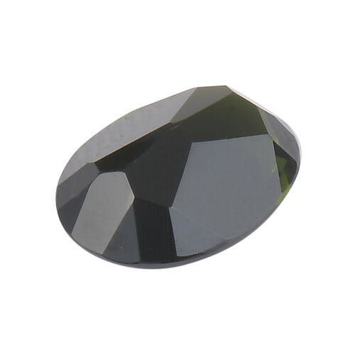 AAA Green Tourmaline Oval 2-2.99 Faceted 2.45 Cts