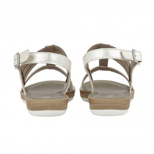 Lotus White Rome Sling-Back Sandals (Size 3)