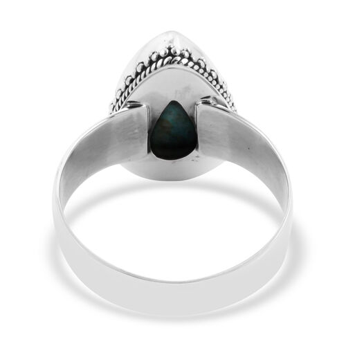 Royal Bali Collection - Chrysocolla Ring in Sterling Silver 4.87 Ct.