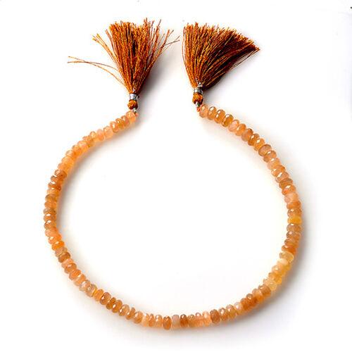 Sri Lankan Sunstone (Rnd Beads 8 mm Plain 3A) 120.000 Ct.