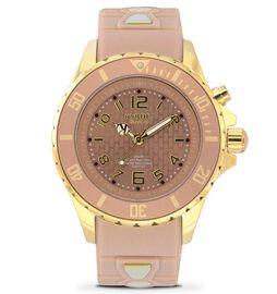 KYBOE Power Collection LED Watch 40MM - Rotating Bezel - 100M Water Resistance - Gold Sand