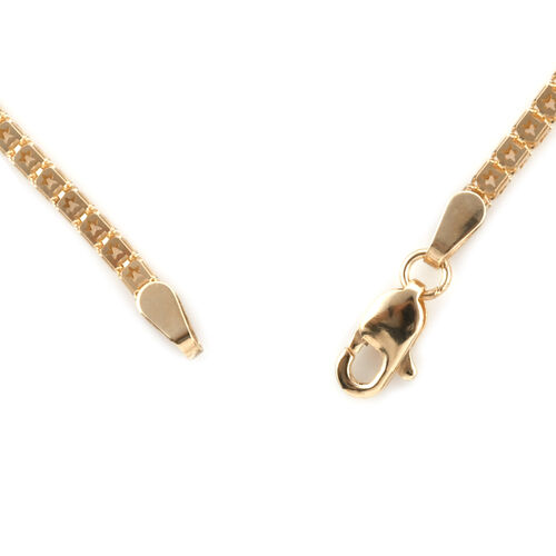 Royal Bali Collection 9K Yellow Gold Necklace (Size 20), Gold wt 6.35 Gms.